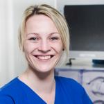 Christina Hille: Gesundheits- und Krankenpflegerin