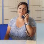 Bettina Fischer: Med. Fachangestellte